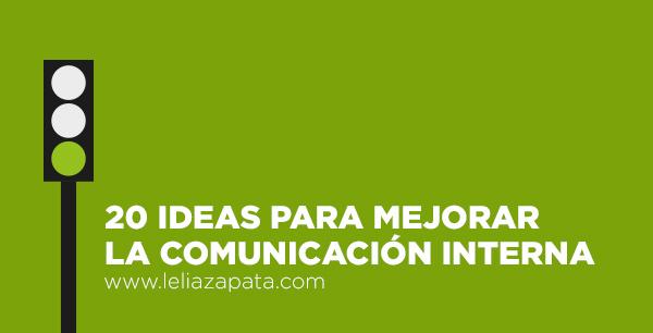 Mejorar la Comunicación interna