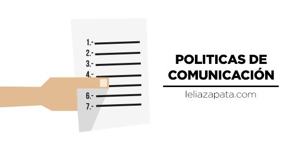 Las empresas deberían diseñar políticas que sirvan de guía para el diseño de mensajes coherentes